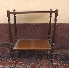 Tavolino carrello da sala a due piani epoca '900