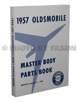 Oldsmobile Body Parts Book 1957 1956 1955 1954 1953 1952 1950 1949 Olds Catalog
