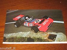(121)=G.P. F.1 FRANCIA 1972 DEREK BELL TECNO MARTINI R.=RITAGLIO=CLIPPING=FOTO=