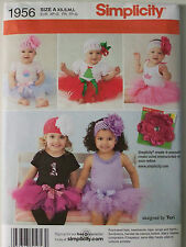 Simplicity -1956- DESIGNED BY TERI - BABIES' TUTU AND APPLIQUES Pattern