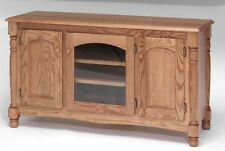 #8879 Solid Wood Oak Country TV Stand