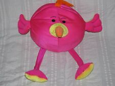 Moshi Microbead pillow HOT PINK and YELLOW BIRD Squishy Therapy Pillow