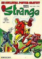 STRANGE N°126 EN TRES BON ETAT L' ARAIGNEE - DAREDEVIL - IRON MAN (1980)