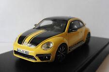 VW VOLKSWAGEN NEW BEETLE GSR 2013 YELLOW BLACK SPARK 1/43 COCCINELLE GELB JAUNE