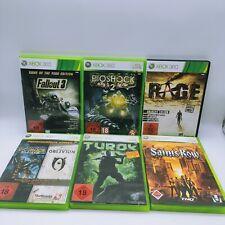 6x Spiele Games Sammlung ORIGINAL Microsoft Xbox 360 mit OVP, CIB