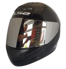 LS2 Helmet Motorbike Fullface Ff352 Rookie Solid Black L