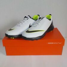 Nike LUNAR CONTROL JR Soft Golf Spikes WHITE BLACK 818734 101 Youth Size 6Y