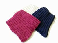 Ladies Women Knitted Crochet CircleTube Winter Scarf Neck Wrap Warmer Shawl Cold