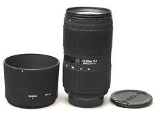 Sigma EX 50-150 mm f/2.8 EX DC HSM pour Nikon
