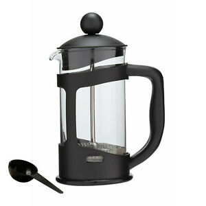 Coffee Maker Home 3 Cup 350ml Cafetiere Plunger French Press Black Tea Americano