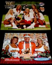 2 Hooters Uniform 1 Rose Bowl Lee Corso Football 1 Softball ASA Beer Poster