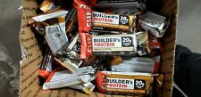 76 ASSORTED CLIF BUILDERS HIGH  PROTEIN BARS LQQK!!! NO RESERVE