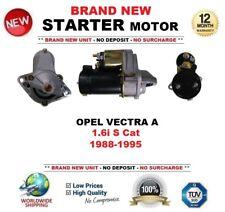 für Opel Vectra A 1.6i S Katalysator 1988-1995 BRANDNEU ANLASSER 1.4KW 10 Zahn