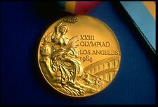 1984 Los Angles Olympic 'Gold' Medal with Ribbons and Display Stands .....