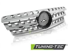Radiator Grille For MERCEDES W163 98-05 W164 LOOK CHROME - SILVER