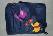 Disney Winnie The Pooh Baby Bottle Diaper Bag Sling Messenger Tote Blue 17� Nwt