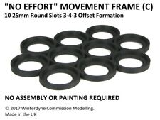 """""""No Effort"""" Movement Tray Frame(C), Suits Age of Sigmar, Warhammer, 25mm Round"""