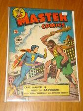 MASTER COMICS #90 VG (4.0) 1948 APRIL CAPTAIN MARVEL JR FAWCETT* A