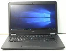 """C Grade Dell Latitude E7450 14"""" Intel i5 8 GB RAM 256 GB SSD Win 10 WiFi Laptop"""