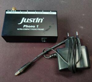 JustIn Phono 1 Preamp Vorverstärker Plattenspieler kompakt