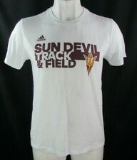 Arizona State Sun Devils Athletics Track and Field T-shirt in White by Adidas