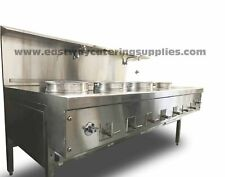 More details for heavy duty commercial chinese wok cooker ng/lpg