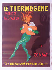 Ancienne affiche publicitaire Le THERMOGENE signée CAPPIELLO - déco pharmacie