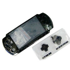 Black Full Housing Shell Faceplate Case for PSP 2000 Slim&Lite
