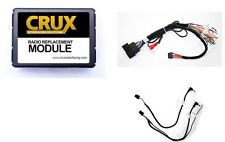 CRUX SWRFD-60B FACTORY INTERFACE & STEERING WHEEL ADAPTER FORD LINCOLN CAR AUDIO