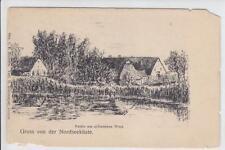 AK Dorum ?, Nordsee, Partie am schwarzen Weel, 1900