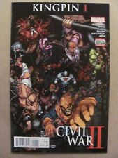 Civil War II Kingpin #1 Marvel Comics 2016 Series 9.6 Near Mint+
