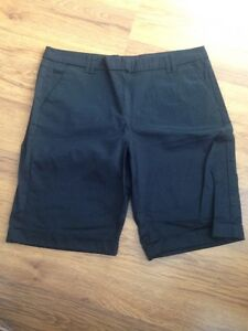Mango Basics Womens Black Shorts Size W32