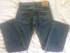 Levis 514 Slim Straight Red Tag Jeans Size 12 Regular 26x26.5 Blue Stretch Denim