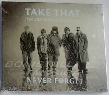TAKE THAT - NEVER FORGET, THE ULTIMATE COLLECTION - CD Digipack Sigillato