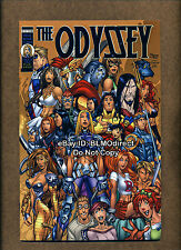 VHTF 2002 The Odyssey #1 NM- Platinum Foil Variant Edition Avatar 10th Muse