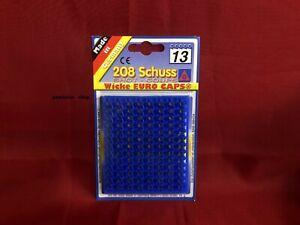 208 Schuss Streifen Munition Wicke Euro Caps  16 x 13er Schuß *OVP