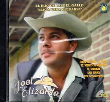 Joel Elizalde El Hijo De Lalo El Gallo Llega Para Quedarse CD New Sealed