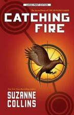 Hunger Games Trilogy: Catching Fire by Suzanne Collins (2012, Trade Paperback, Large Type / large print edition)
