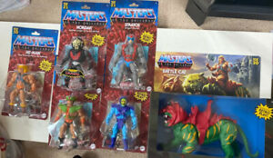 Masters of the Universe Hordak, Stratos, Skeletor, He-Man, Tri-Clops And Cat