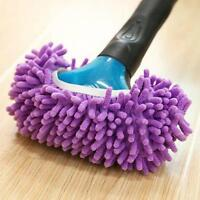 1X Elastic House Clean Mop Shoe Cover Dust Floor Cleaning Slippers Shoes Mop