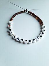 I love my Labradoodle Handmade Bracelet