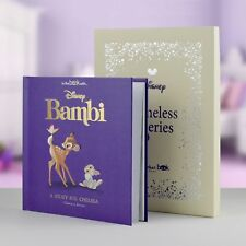 Personalised Children Book Timeless Disney Bambi Book Hardback Gift Boxed Story