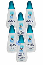 6 x ANNE FRENCH DEEP CLEANSING MILK 200ML, FACIAL FACE CLEANSER GREAT VALUE!