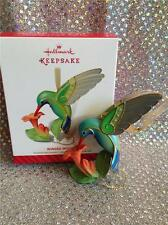 2014 HALLMARK ORNAMENT WINGED WONDER HUMMINGBIRD LIMITED EDITION PREMIERE EVENT