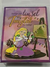 Disney Pin Trading Rapunzel Tangled Limited Edition Holiday Pin and 3x4 Card