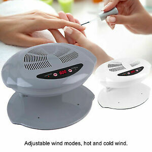 400W Nail Art Finger Polish Varnish Dryer Machine Warm Cool Blower Fan Tool