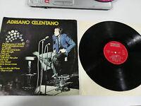 "Adriano Celentano LP 12 "" G + Spanisch Edition 1978 Mega Selten Promotional"