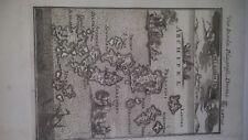 1686 Isole Grecia 3 -Mappa antica originale - autore Manaisson Mallet