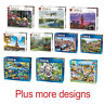 1000 Piece Jigsaw Puzzle Puzzles - Choice of 46 Animals Cities Landmarks Cottage