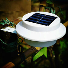 Outdoor Sensor de movimiento 3 LED Lámpara LED Solar Power Light luz de pared
